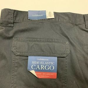 croft & barrow Shorts - Croft & Barrow Mens Big & Tall Cargo Shorts